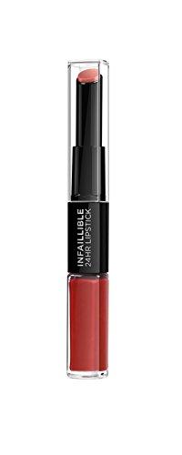 L´Oréal Paris Make Up Artist Pintalabios Infallible Permanente 24H, Color Rojo 506