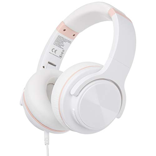 AmazonBasics – Auriculares inalámbricos circumaurales Bluetooth con conector...