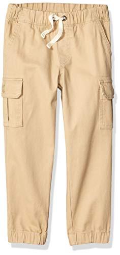 Amazon Essentials - Pantalones cargo para niño, Caqui, 6-7 años