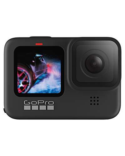 GoPro HERO9 Black - Cámara de acción sumergible con pantalla LCD delantera y...