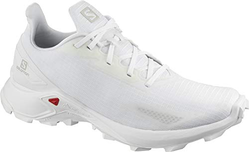 Salomon ALPHACROSS Blast, Zapatillas de Trail Running para Hombre, Color: Blanco...