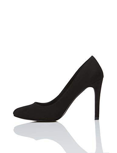 find. Court Zapatos de Tacón, Negro Black, 41 EU