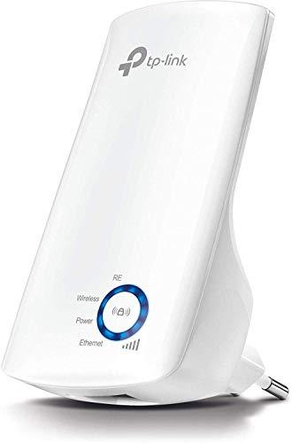 TP-Link N300 Tl-WA850RE - Repetidor Extensor de Red WiFi (2.4 GHz, 300 Mbps, Puerto...