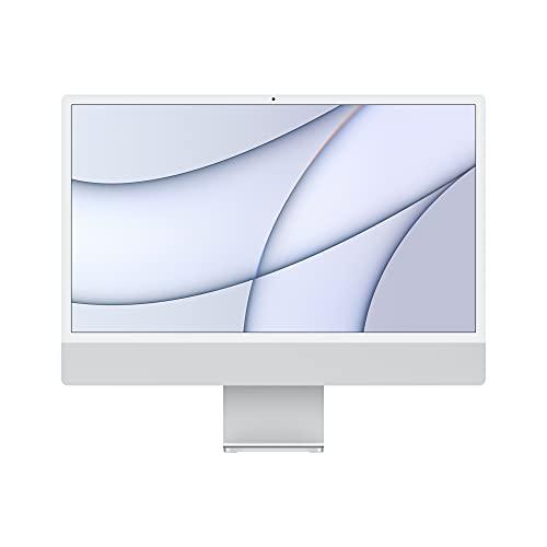 2021 Apple iMac (de24Pulgadas, Chip M1 de Apple con CPU de Ochonúcleos yGPU...