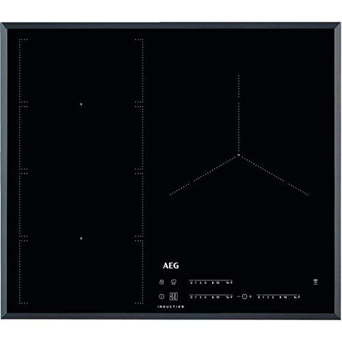 AEG IKE63471FB Placa inducción flexible, Biselada, Extraplana 3 zonas, Función...