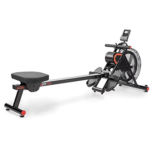 FITFIU Fitness RA-200 - Máquina de Remo con resistencia por aire, plegable, con...