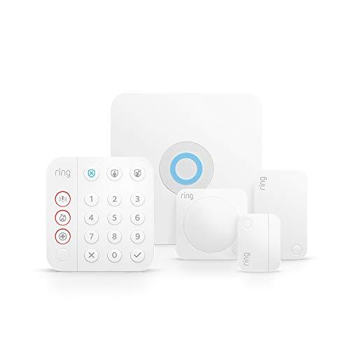Kit de 5 piezas Ring Alarm de Amazon (2.ª generación) | Sistema de seguridad para...