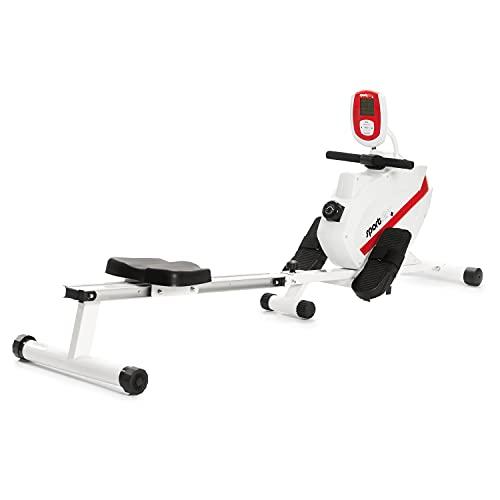 SportPlus Máquina de Remo Fitness para Uso Interior – Incluye Receptor de Ritmo...