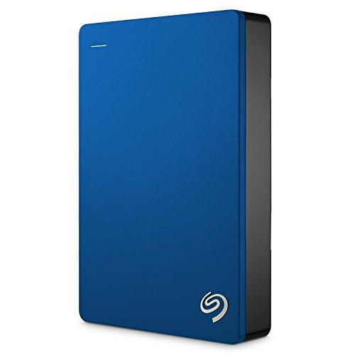 Seagate Backup Plus Slim - Disco duro externo portátil de 2.5' para PC y Mac (4 TB,...