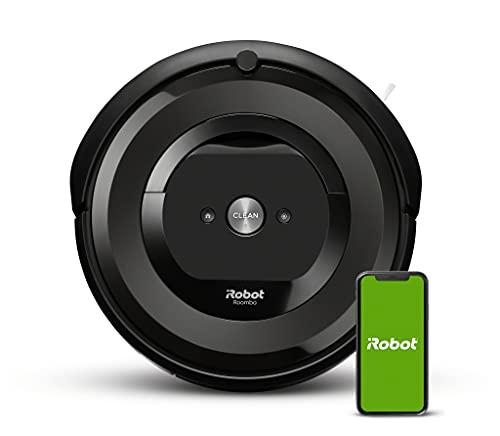 Robot aspirador con conexión Wi-Fi iRobot Roomba e6192 con 2 cepillos de goma...