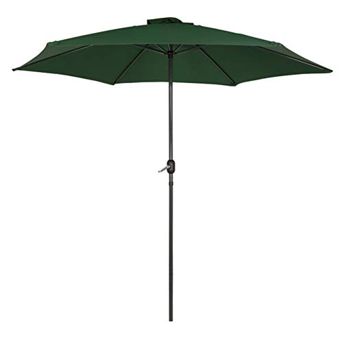Aktive Garden 53874 - Parasol Hexagonal Diámetro 300 cm, Mástilil Aluminio 38 mm,...