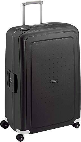 Samsonite S'Cure Spinner- Maleta de equipaje, XL (81 cm - 138 L), Negro (Black)