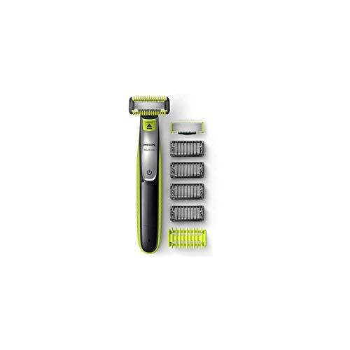 Philips QP2630/30 OneBlade Cara + Cuerpo - Recortador de Barba Recargable con...