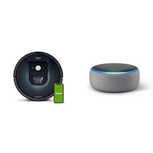 iRobot Roomba 981 - Robot Aspirador, WiFi, Aspiración de Alta Potencia, Dirt Detect,...