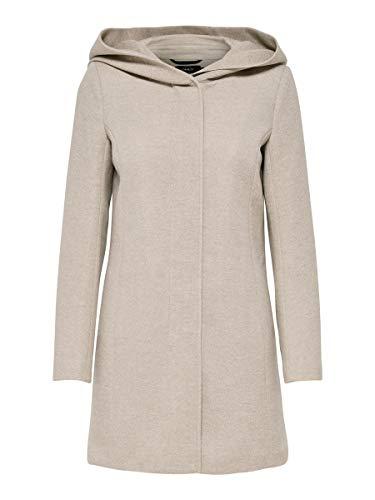 Only Onlsedona Light Coat Otw Noos Abrigo, Etherea/Detail:Melange, 38 (Talla del...