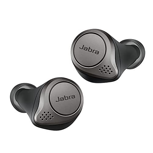 Jabra Elite 75t, Auriculares Bluetooth con Cancelación Activa de Ruido y batería de...