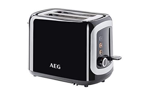 AEG AT3300 Tostadora Serie 3 de Doble Ranura, 7 Niveles de Potencia, Descogelador,...