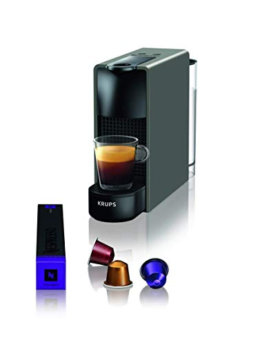 Krups Nespresso XN110B Krups Essenza Mini - Cafetera monodosis de cápsulas...
