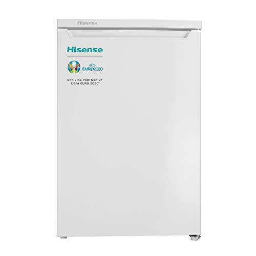 Hisense RR154D4AW2 - Frigorífico una puerta reversible, clase A++, 119 l de...
