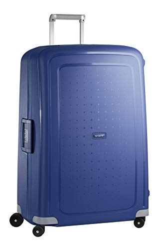 Samsonite S'Cure Spinner - Maleta de equipaje, XL (81 cm - 138 L), Azul (Dark Blue)