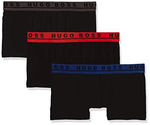 BOSS Trunk CO/EL Bóxer, Multicolor (Open Miscellaneous 965), Large (Pack de 3) para...
