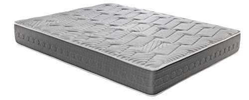ROYAL SLEEP Colchón viscoelástico Carbono 90x190 firmeza Alta, Gama Alta, Efecto...