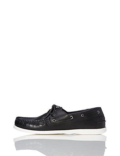 find. Zapatos Náuticos Hombre, Negro (Black), 45/46 EU