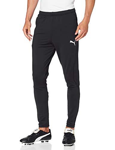 PUMA Liga Training Pants Pro Pantalones, Hombre, M, Negro (Black/White)