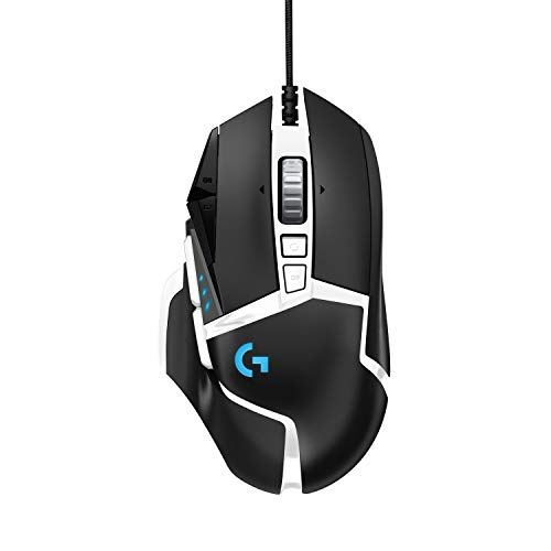 Logitech G502 SE Hero, Ratón High Performance RGB Gaming con 11 Botones Programables...