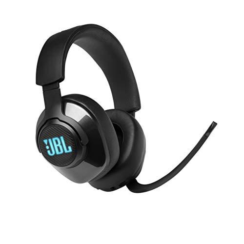 JBL Quantum 400 Auriculares para gamers con un diseño llamativo, tecnología de...