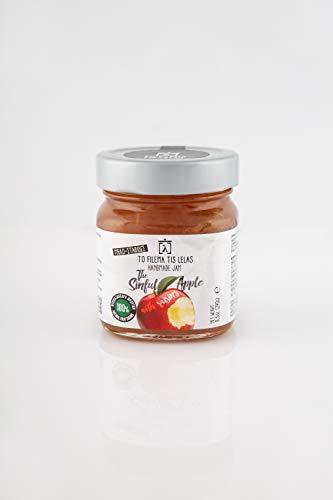 To Filema Tis Lelas sin azúcares añadidos mermelada Manzana 240 g, Paquete de 2