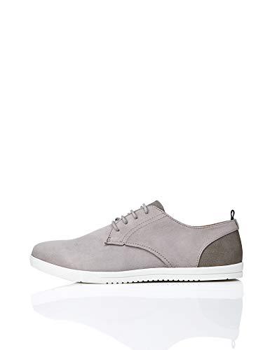 find. Mendel Sports Zapatos de Cordones Derby, Gris Grey, 39/40 EU