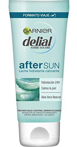Garnier Delial After Sun Leche Hidratante Calmante con Aloe Vera Natural, Formato...