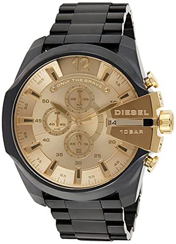 Diesel Reloj Analogico para Hombre de Cuarzo con Correa en Acero Inoxidable DZ4485