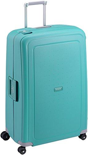 Samsonite S'Cure Spinner - Maleta de equipaje, XL (81 cm - 138 L), Azul (Aqua Blue)