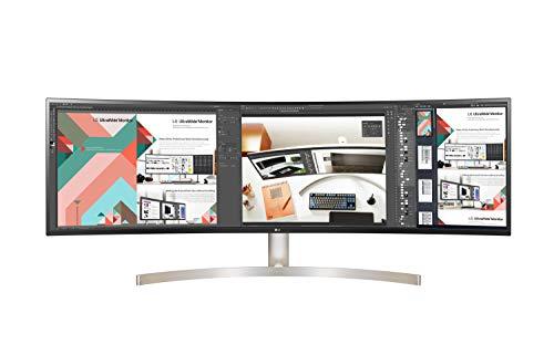 LG - Monitor 49WL95C-WE UltraPanoramico multimedia (Panel IPS: 5120x1440, 32:9,...