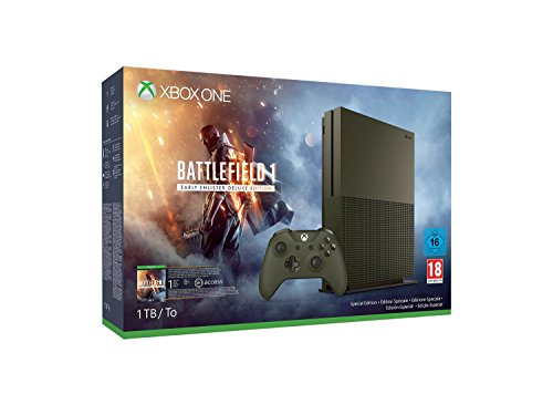 Xbox One - Pack Consola S 1 TB: Battlefield 1