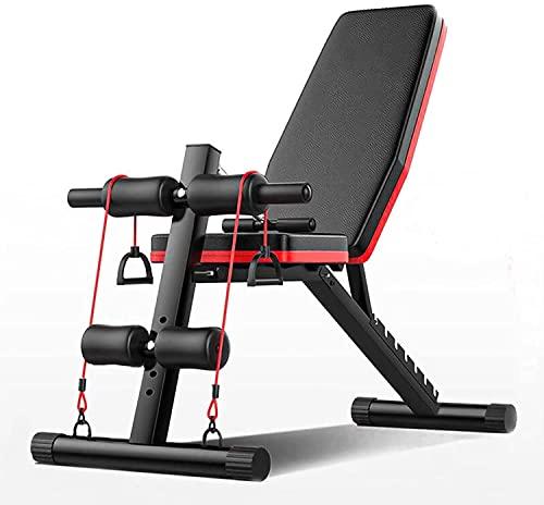 Banco de Pesas Ajustable para Fitness, Bancp de pesas,Banco de musculacion para...