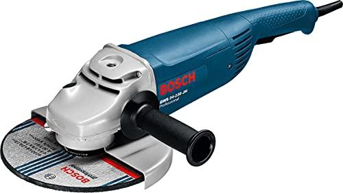 Bosch Professional GWS 24-230 JH - Amoladora angular (2500 W, 6500 rpm, Ø disco 230...