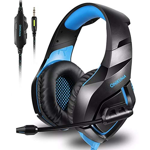 Unicview Cascos Gaming K1 (2020) para PS4, PC, Xbox One, Switch Auriculares con...