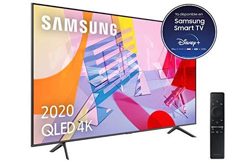 Samsung QLED 4K 2020 55Q60T - Smart TV de 55' con Resolución 4K UHD, con Alexa...