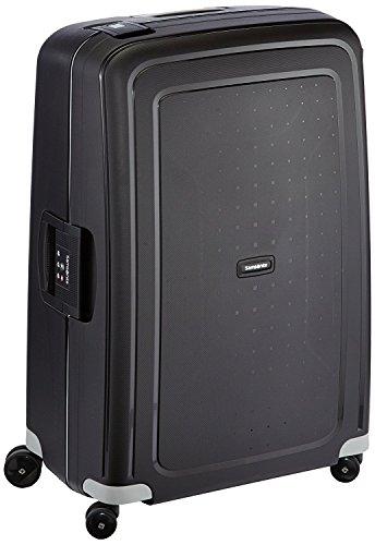 Samsonite S'Cure Spinner - Maleta de equipaje, L (75 cm - 102 L), Negro (Black)