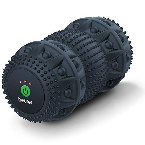 Beurer Rodillo de masaje MG 35 Deep Roll con vibración, rodillo de fascia para...