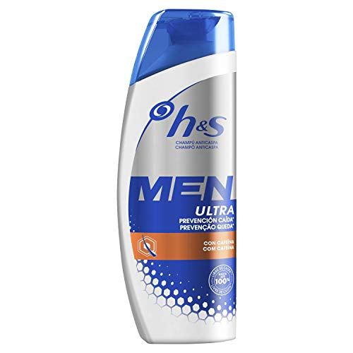 Head & Shoulders Men Ultra Prevención Caída Champú Anticaspa 300 ml, Fórmula...