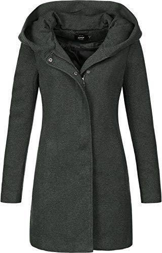 Only ONLSEDONA Light Coat OTW Noos Abrigo, Rosin/Detail:Melange, M para Mujer