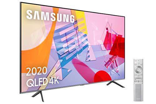 Samsung QLED 4K 2020 65Q64T - Smart TV de 65' con Resolución 4K UHD, con Alexa...