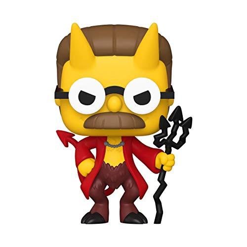 Funko- Pop Animation: Simpsons-Devil Flanders Figura Coleccionable, Multicolor...