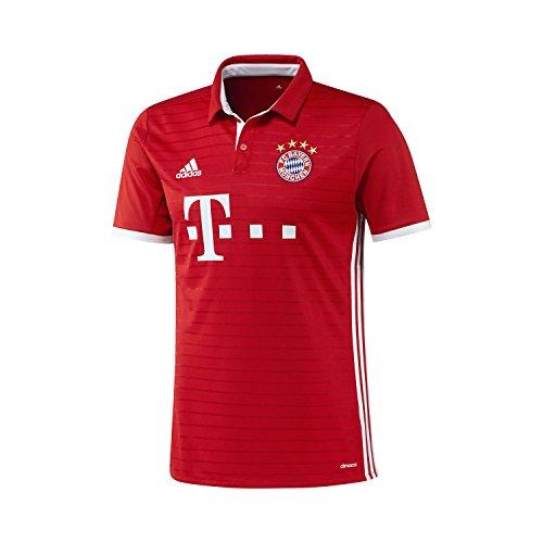 adidas FCB H JSY Camiseta Bayern Múnich, Hombre, Rojo, M