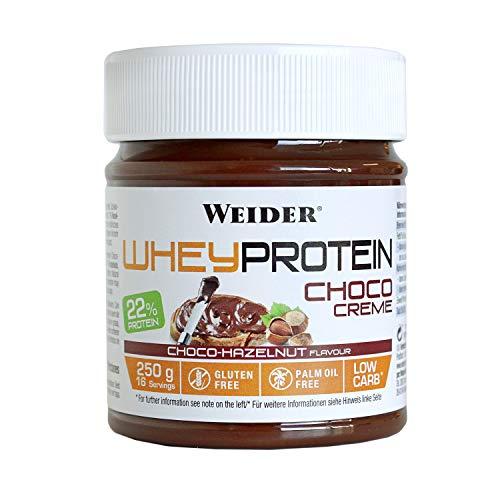 Weider Whey Protein Spread 250 g. Crema de avellana con 22% de proteínas Baja en...