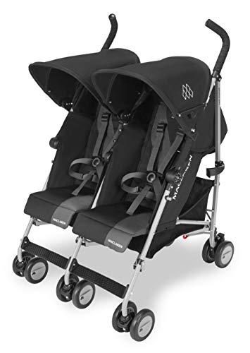 Maclaren Twin Triumph Silla de paseo doble - ligera, de los 6 meses hasta los 50kg,...